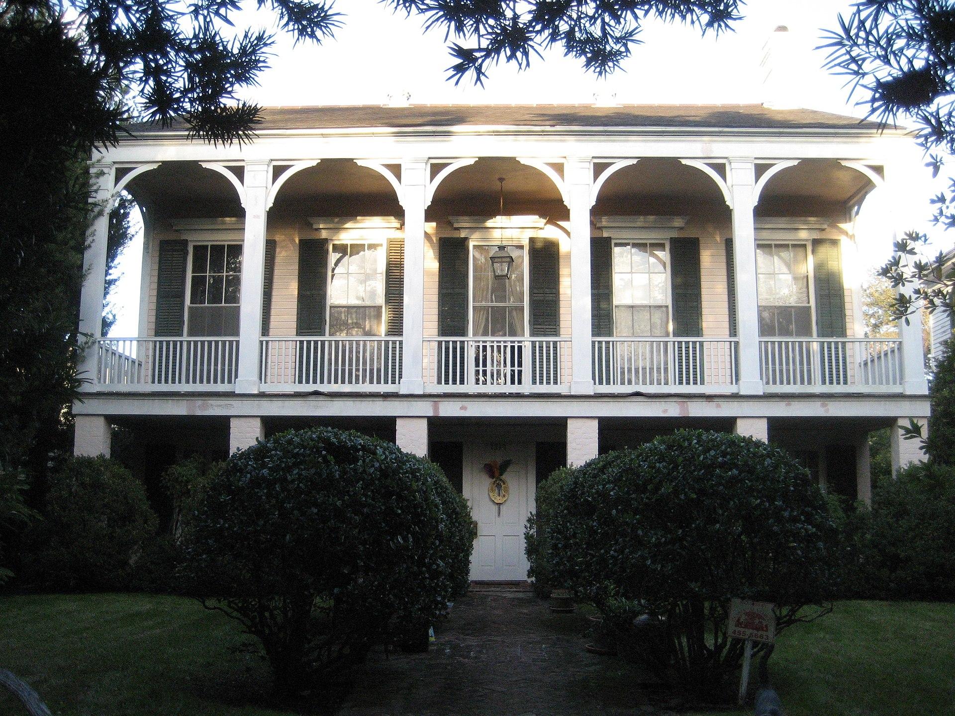 George washington cable house simple english wikipedia for Minimalist house wiki