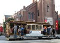 Cable car in historic Chinatown in San Francisco, California LCCN2013631883.tif