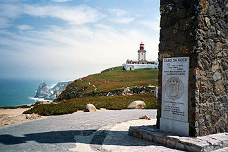 Cabo da Roca - Monument declaring Cabo da Roca as the westernmost extent of continental Europe