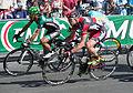 Cadel - Champs-Élysées stage in the 2012 Tour de France.jpg