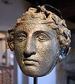 Calchi di elmi a maschera dalle serre di rapolano, I sec. ac. (origimali al museo a.n. di Firenze) 01.JPG