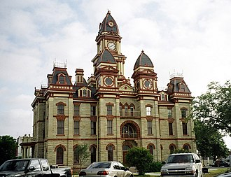 Caldwell County, Texas - Image: Caldwell courthouse 2005