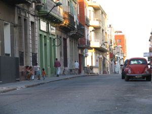 Ciudad Vieja, Montevideo - Street in the Ciudad Vieja
