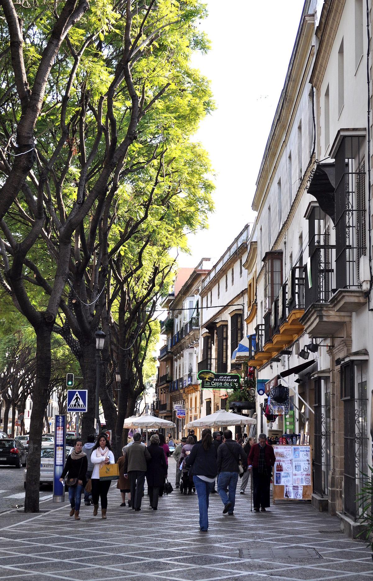 Calle porvera wikipedia la enciclopedia libre for Calle prado jerez 3 navacerrada