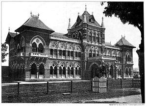 Cama Hospital - Building in 1887.