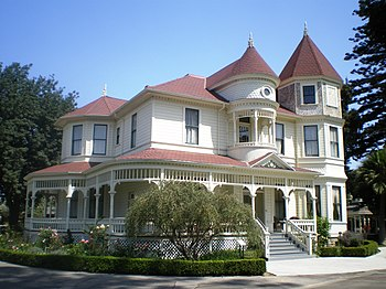 English: Camarillo Ranch House, 201 Camarillo ...