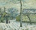 Camille Pissarro - Effet de neige à Montfoucault (c.1874).jpg