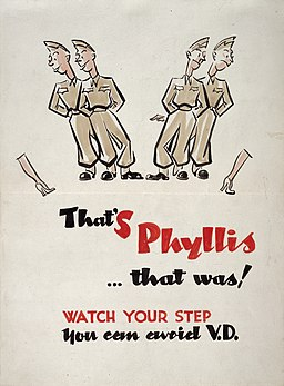 Campaign against syphilis, 1943-44; poster Wellcome L0025270