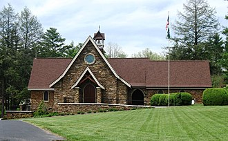 Christ School (North Carolina) - Image: Campus wiki