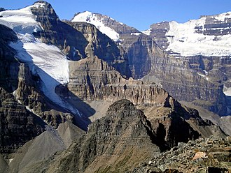 Fairview Mountain (Alberta) - View from Fairview's summit