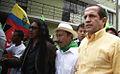Canciller Patiño encabeza marcha de apoyo al Presidente de la República, Rafael Correa (5040511450).jpg