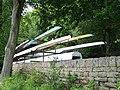 Canoes at Damflask Reservoir, near Sheffield - geograph.org.uk - 1615329.jpg