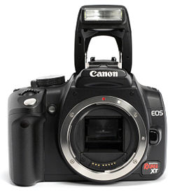 Canon EOS 350D camera