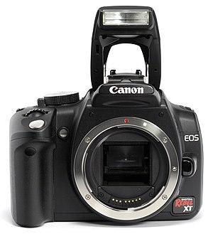 Canon EOS 350D - Canon EOS 350D camera