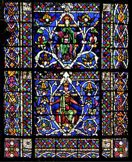 English Gothic stained glass windows