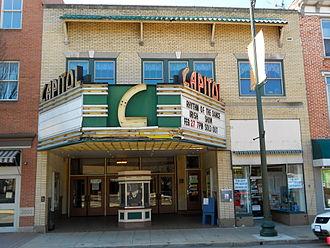 Capitol Theatre Center - Main theater entrance