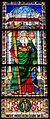 Cappella pazzi, vetrata di sant'andrea di alesso baldovinetti.JPG