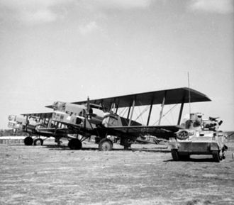 Lioré et Olivier - Two LeO 25 bombers at Aleppo.