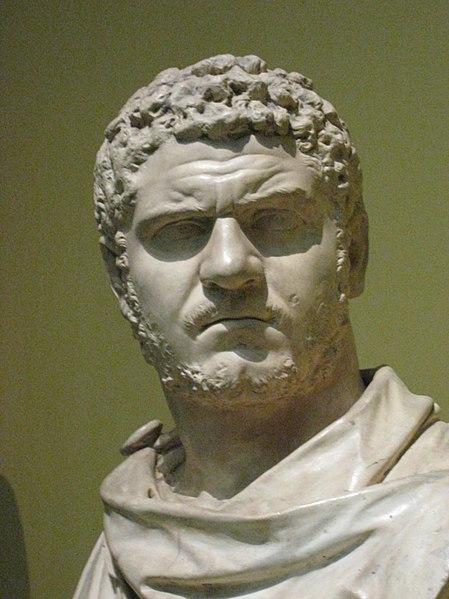 Marco Antonio Basiano Caracalla emperador romano Roman Emperor