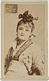 Card 913, Lotta, from the Actors and Actresses series (N45, Type 2) for Virginia Brights Cigarettes MET DP830963.jpg