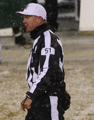 Carl Cheffers - Image: Carl Cheffers Referee at Lambeau Field 2013 cropped