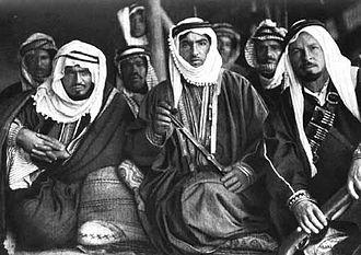 Otaibah - Image: Carl Raswan und Prinz Amir Fuaz 0001