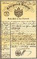 Carl Spitzweg Reisepass Königreich Bayern 1851.jpg