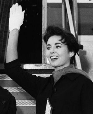 Carol Morris - Carol Morris in Copenhagen in 1958