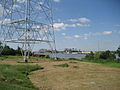 Carrollton Riverbend Levee Aug 2009 River F.JPG