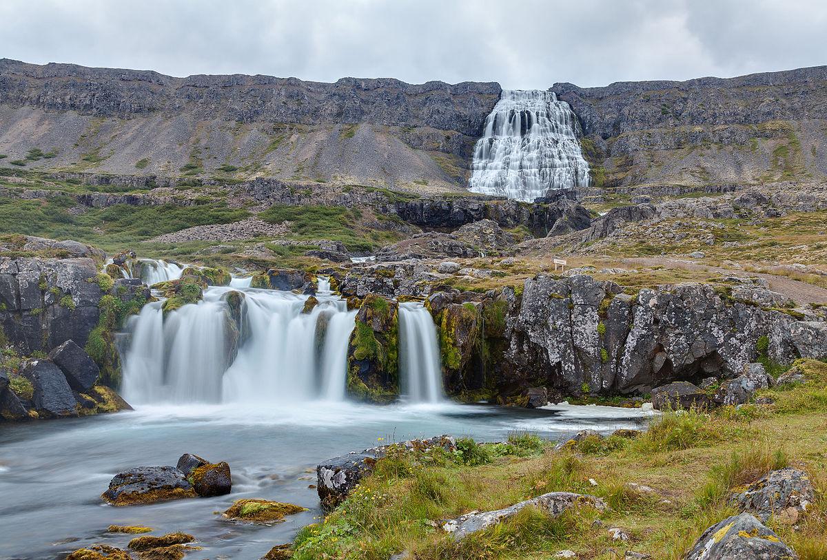 Carte Islande Chutes D Eau