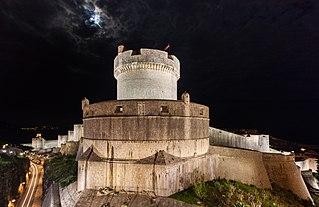 Walls of Dubrovnik Series of walls built around the city of Dubrovnik, Croatia