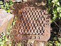 Cast iron drain cover, Funchal (32368410294).jpg