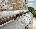 Castel del monte, esterno, canalina.jpg