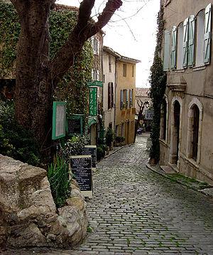 Le Castellet, Var - A street in Le Castellet