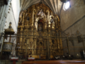 Catedral de Coria. Retablo y reja..TIF
