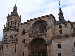 Burgo de Osma-Ciudad de Osma - The Burgo de Osma Cathedral, founded in 1232.