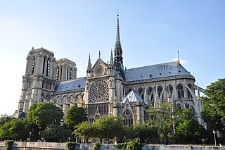 Notre-Dame de Paris cathedral in Paris, France