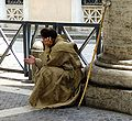 Catholic pilgrim, Eastern Time in Rome.JPG