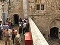 Cenacle and David's tomb entrances.jpg