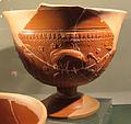 Ceramica sigillata aretina con ibis e motivi vegetali.JPG