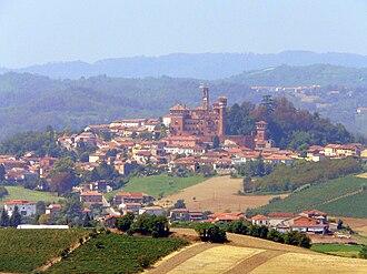 Riccardo Gualino - Image: Cereseto panorama da Treville