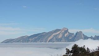 Sierra del Fraile mountain in Mexico