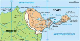 Proponen un Muro para defender la entrada de inmigrantes en Ceuta y Melilla, la puerta trasera de España