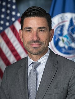 Chad Wolf American civil servant and former official of the U.S. Department of Homeland Security