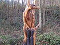 Chainsaw carving at Dean Heritage centre - geograph.org.uk - 1168984.jpg