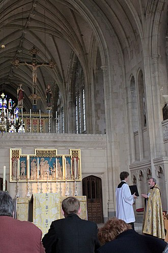 Evening Prayer (Anglican) - Solemn Evensong in the Chapel of the Resurrection, Pusey House, Oxford