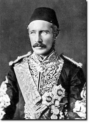 Charles George Gordon - General Gordon in Egyptian uniform.
