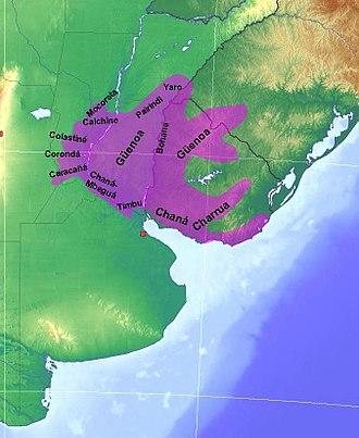 Charrúa - Charrua territories