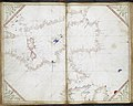 Chart of the western half of the Mediterranean, and the western coast of Europe with part of Britain and Ireland.- Cornaro Atlas (Egerton MS 73, f.11r).jpeg