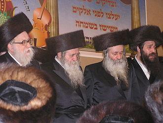 Chernobyl (Hasidic dynasty) - Image: Chernobil rabbis